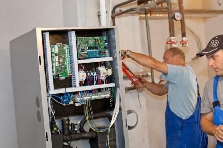 montaža toplotne črpalke za sanitarno vodo