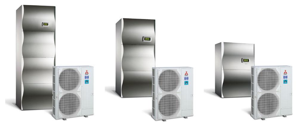 Nizkotemperaturne toplotne črpalke zrak - voda